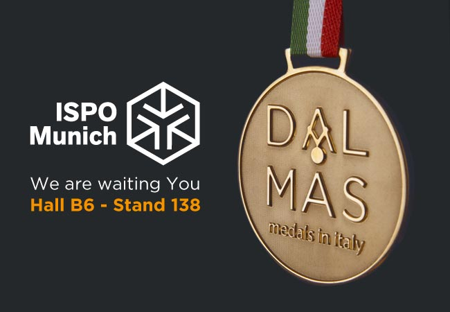Dal Mas Medals will be at ISPO 2018 Exhibition